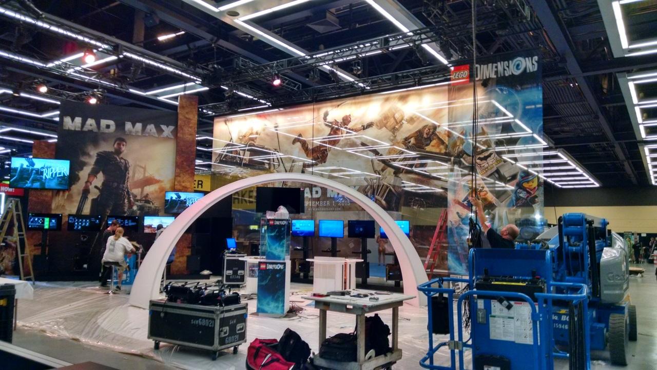 Intimidatingly large setups...