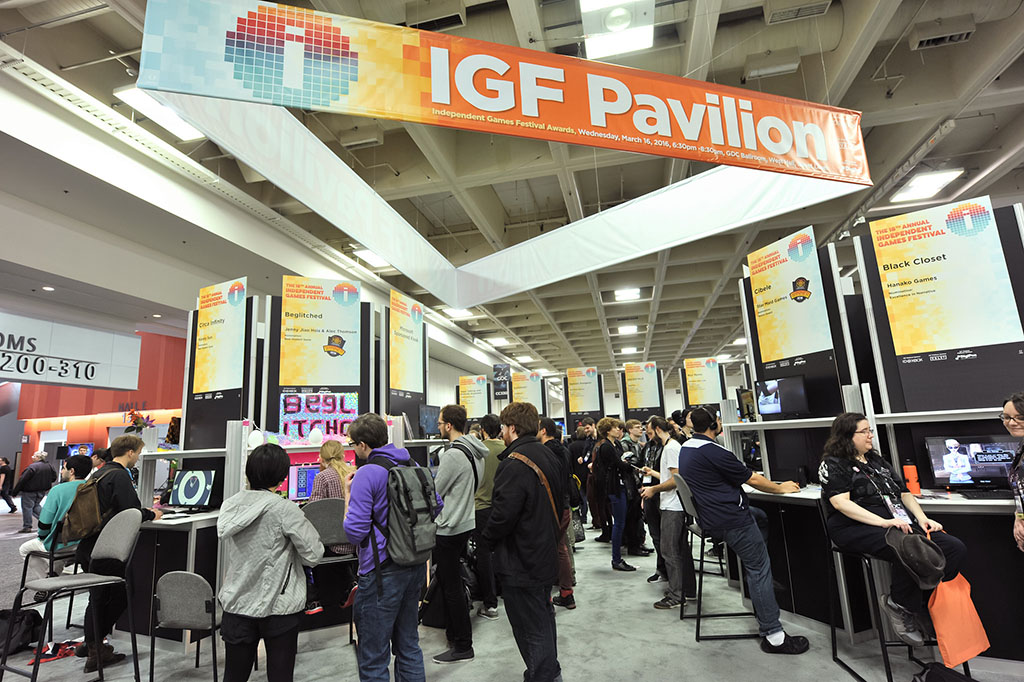 Image taken from GDC16 official  pictures .