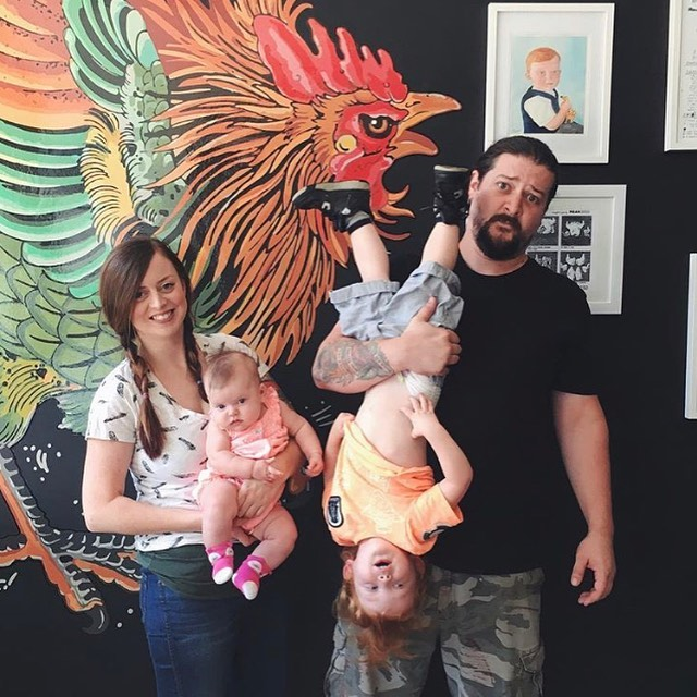 Almost four years ago, after a walk on the Chesapeake bay, we started Mean Bird.  It was just Sarah and I and an army of friends and family willing to watch our fussy son for long days and restaurant industry hours.  We made a ton of mistakes, rewrote our entire menu, did a ton of damage to the food truck, and eventually we started to succeed.  We grew so fast that we were able to open our takeout restaurant a little over a year later.  Once again we made a ton of mistakes, had another baby, struggled with staffing, consistency, the new delivery services, and trying to grow our catering business.  Growth came slower this time, shop sales were inconsistent but, eventually our catering business grew enough to support us, and eventually became almost more than we could manage.  Our lease at the shop on Main Street is up in October and when we discussed whether or or not it was time to try and grow again; we pretty quickly decided our hearts just weren't in it.  There are tons of chefs and restaurateurs that are  able to find a healthy work/life balance, but I can say (with no shame) that I am not one of those folks.  I am also not willing to miss anymore of my two kids lives while I figure it out.  I have hypertension, a bum knee, and an ankle that's so bad after the long weekends that I have to crawl to the bathroom at night. Despite all that I might have kept doing it, because it is fun.  We have met some great people and gotten to travel all over the state to be a part of people's most important days.  At a certain point, all these weddings, parties, and festivals become a reminder of the times I'm missing with my own family and friends.  I have two great kids who are delightful, fascinating people, and when they are older and don't need me as much, I can work on opening a hundred other restaurants.  But for now I have some catching up to do.  The shop will be open for the next two weeks (check our social media for updated hours and some special free stuff for our r