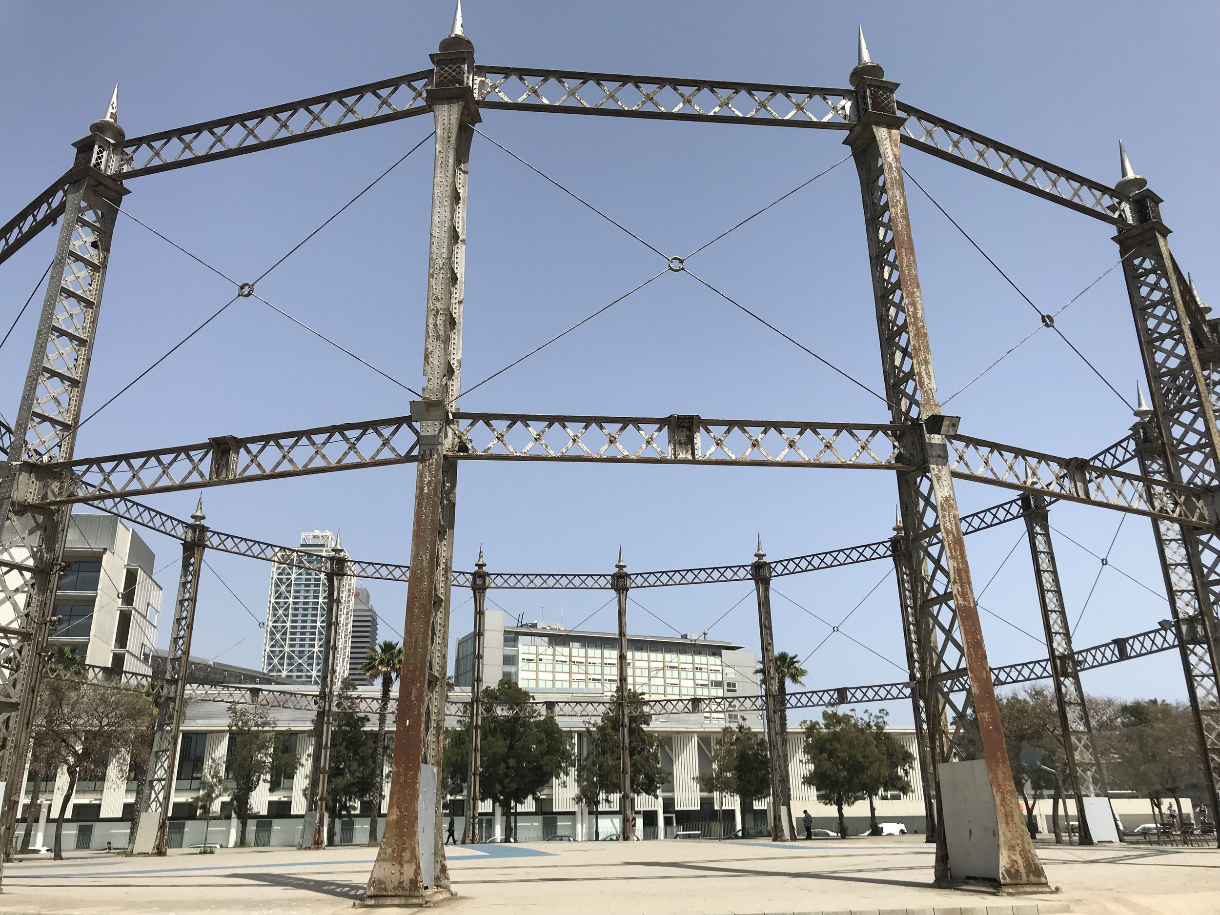 quality design 2a5af 66c47 Basketball in Barcelona: Parc de la Barceloneta — Strength ...