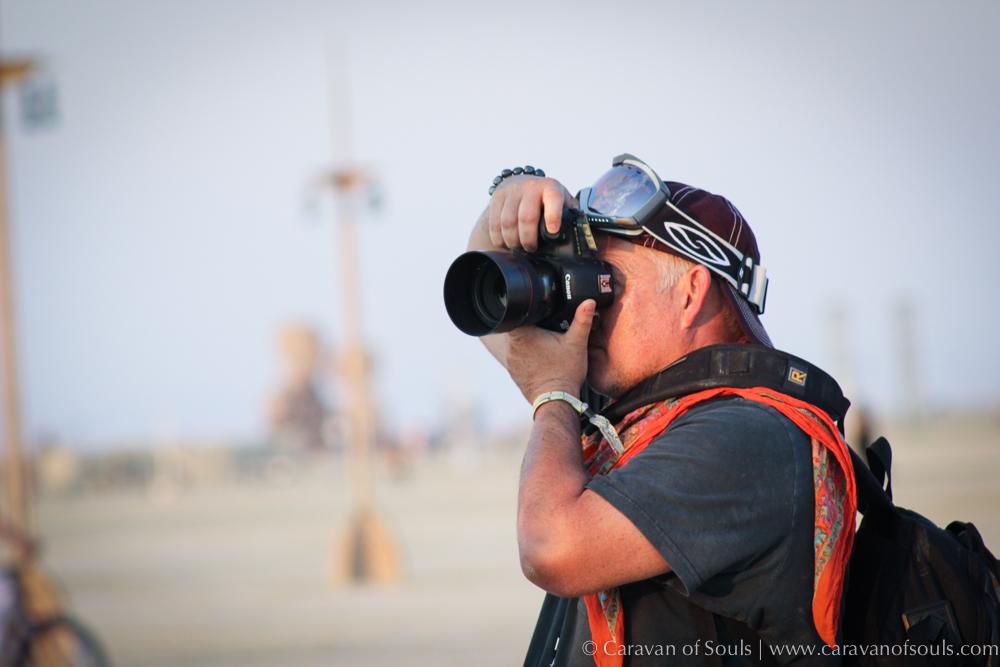 Shooting at Burning Man 2014