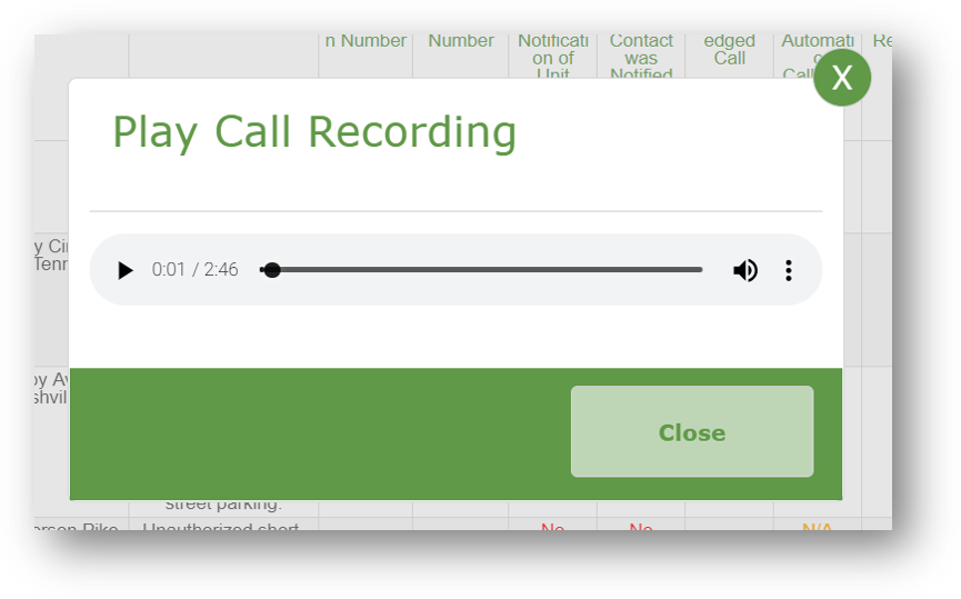 Easily listen to a recording of each short-term rental related complaint.png