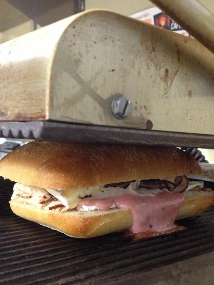 assorted panini platter
