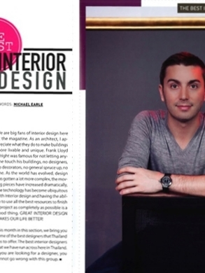 Brian Woulfe, Designed by Woulfe - Best Interior Designers Thailand
