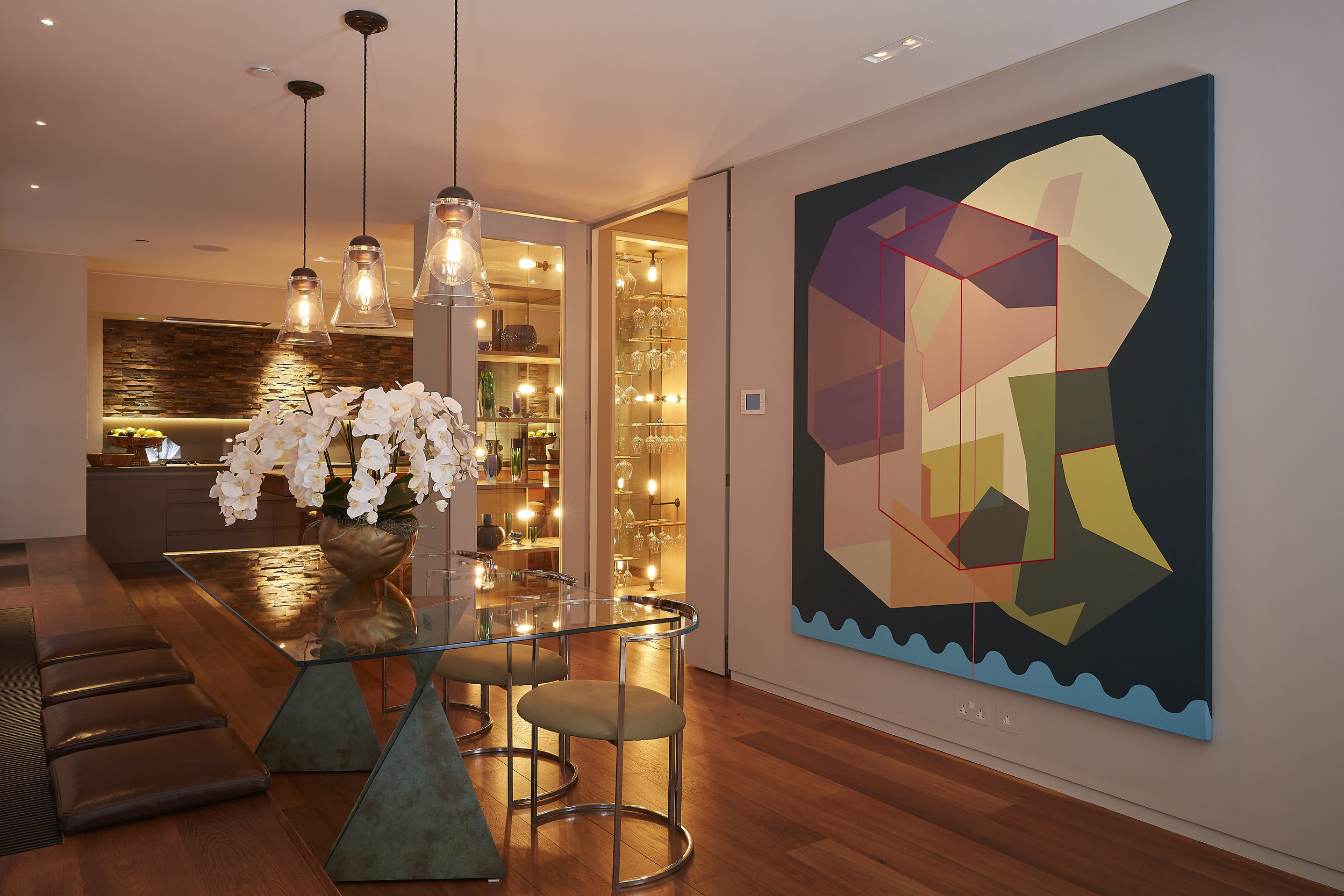 Designed by Woulfe, Notting Hill, London