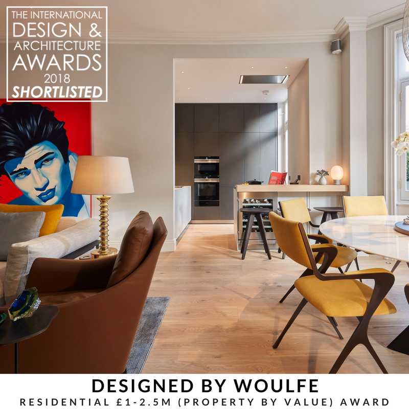Designed by Woulfe, The International Design and Architecture Awards 2018