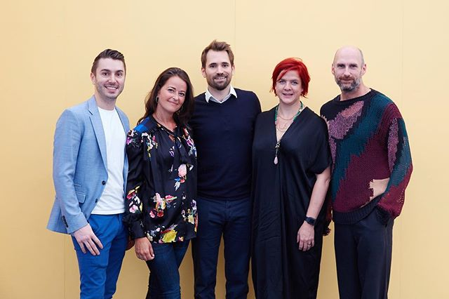 Meet your entranceway designers for @decorex_international  2018!  It's an honour to be sharing this opportunity with such talented people.  @brianwoulfe from @dbw_interiors, @studiosuss, @henryprideauxinteriordesign, @madduxcreative  Photo @roozphoto