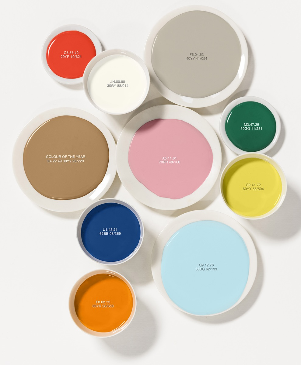 Dulux colour of the year, Designed by Woulfe