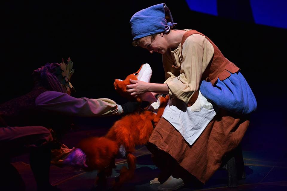 "Fox Puppetteer- ""Cinderella"""