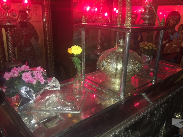 The Holy Relics of St. Gregory Palamas