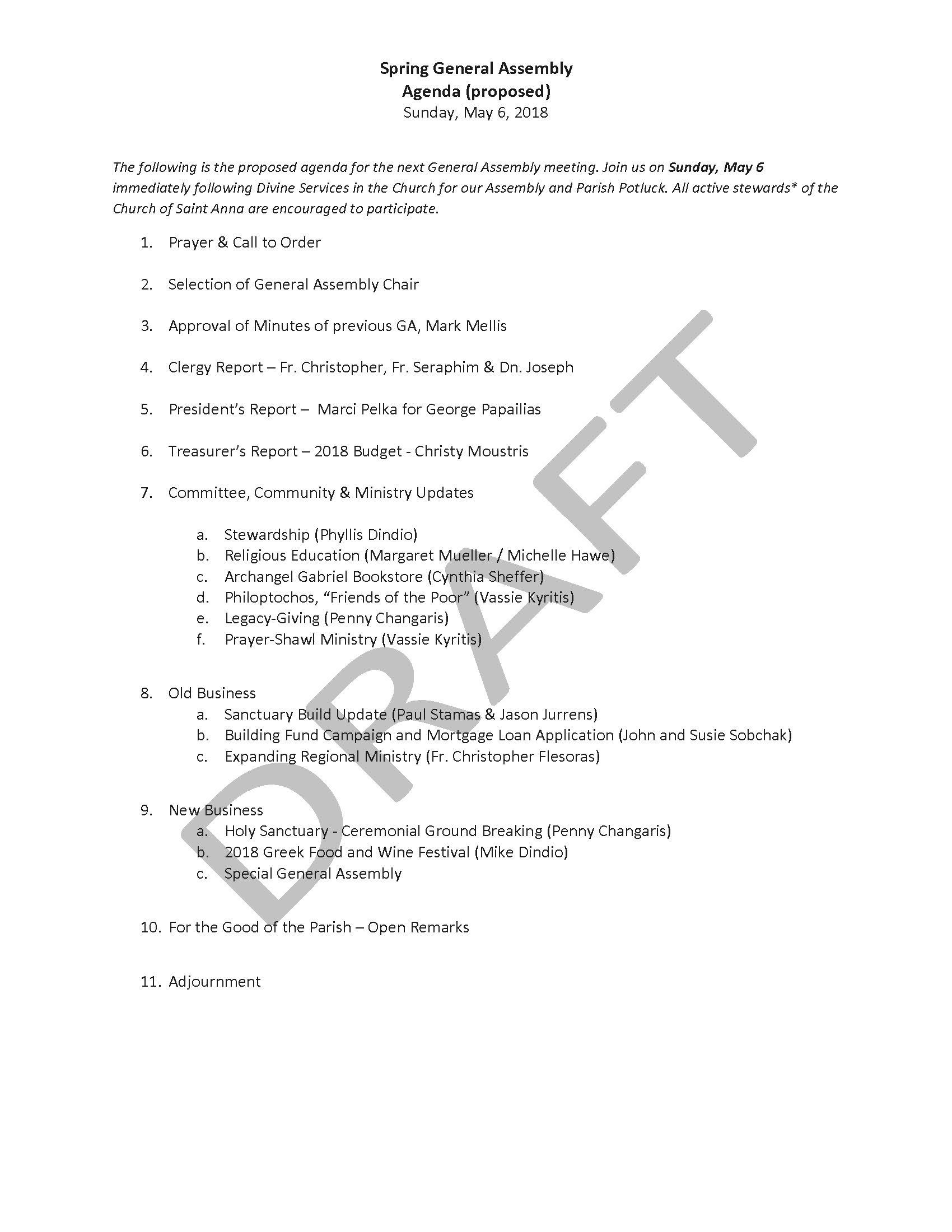 2018 Spring General Assembly - Proposed Agenda.jpg