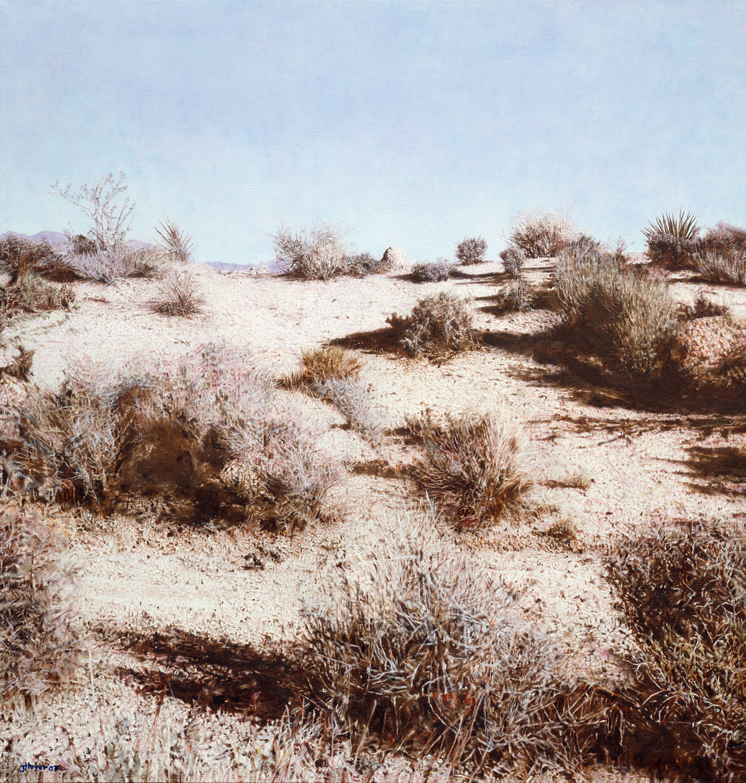 Joshua , 2007 Oil on linen 43 x 45 inches