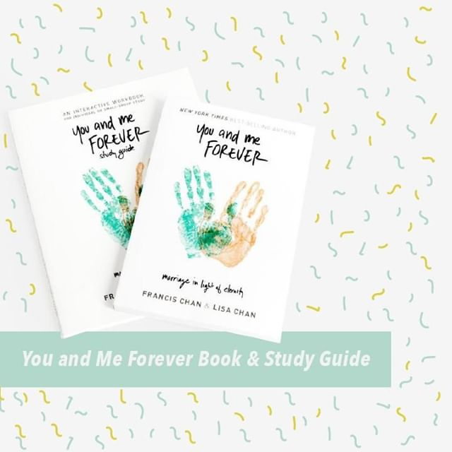 Check out the You and Me Forever book and study guide together through our online store! This package deal is perfect for pre-martial counseling, small group studies, and for individual use. Check the link in our bio to get your copy today!