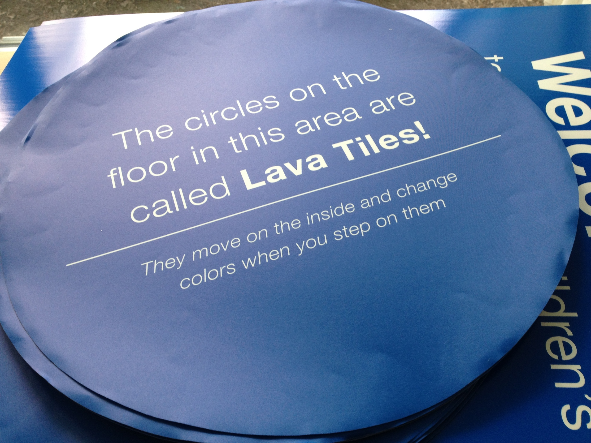 Photo Tex is perfect for re-positionable and removable signs that look great and don't damage surfaces
