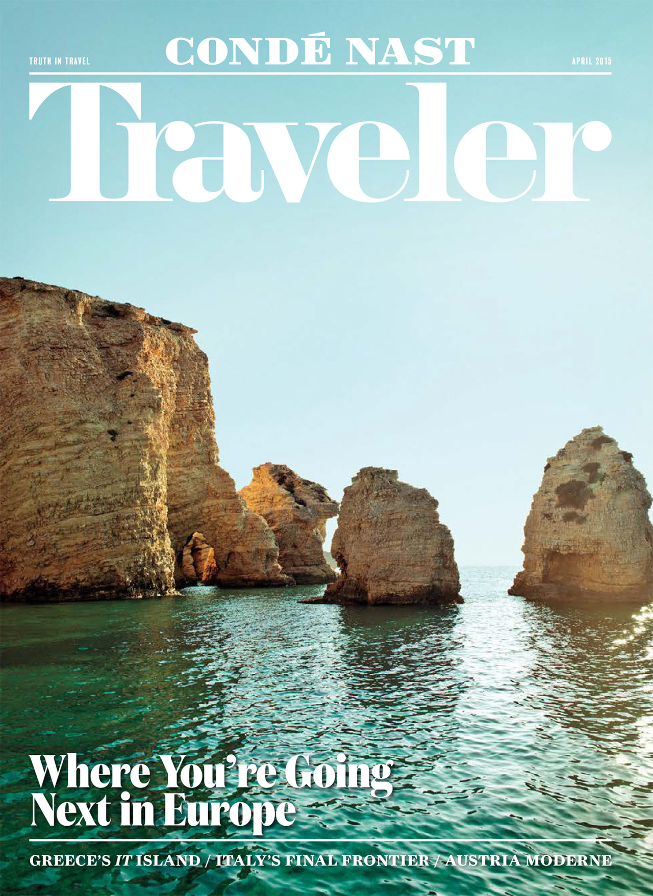 Shot the cover for Conde Nast Traveler April issue! Out now!