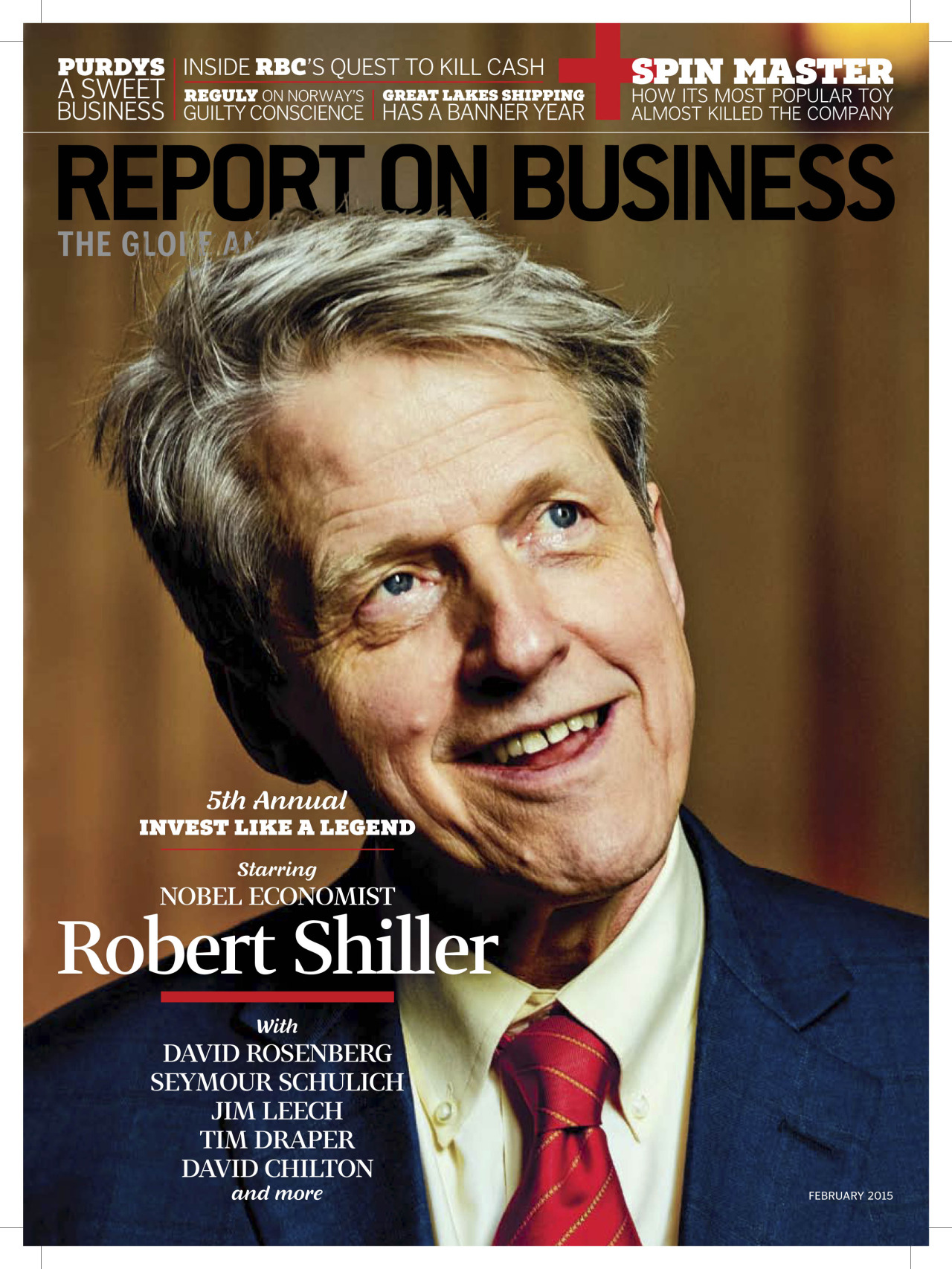 Robert Shiller, shot for the Globe and Mail  More  here.   © gabrielaherman