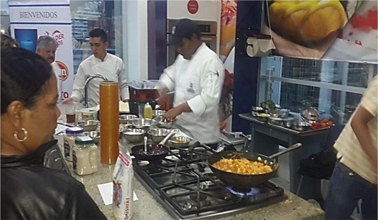 HRI chef rice+chicken cooking competition