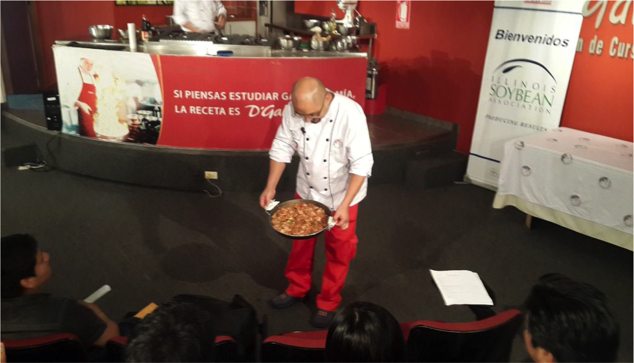 Rice preparation demo for wholesalers