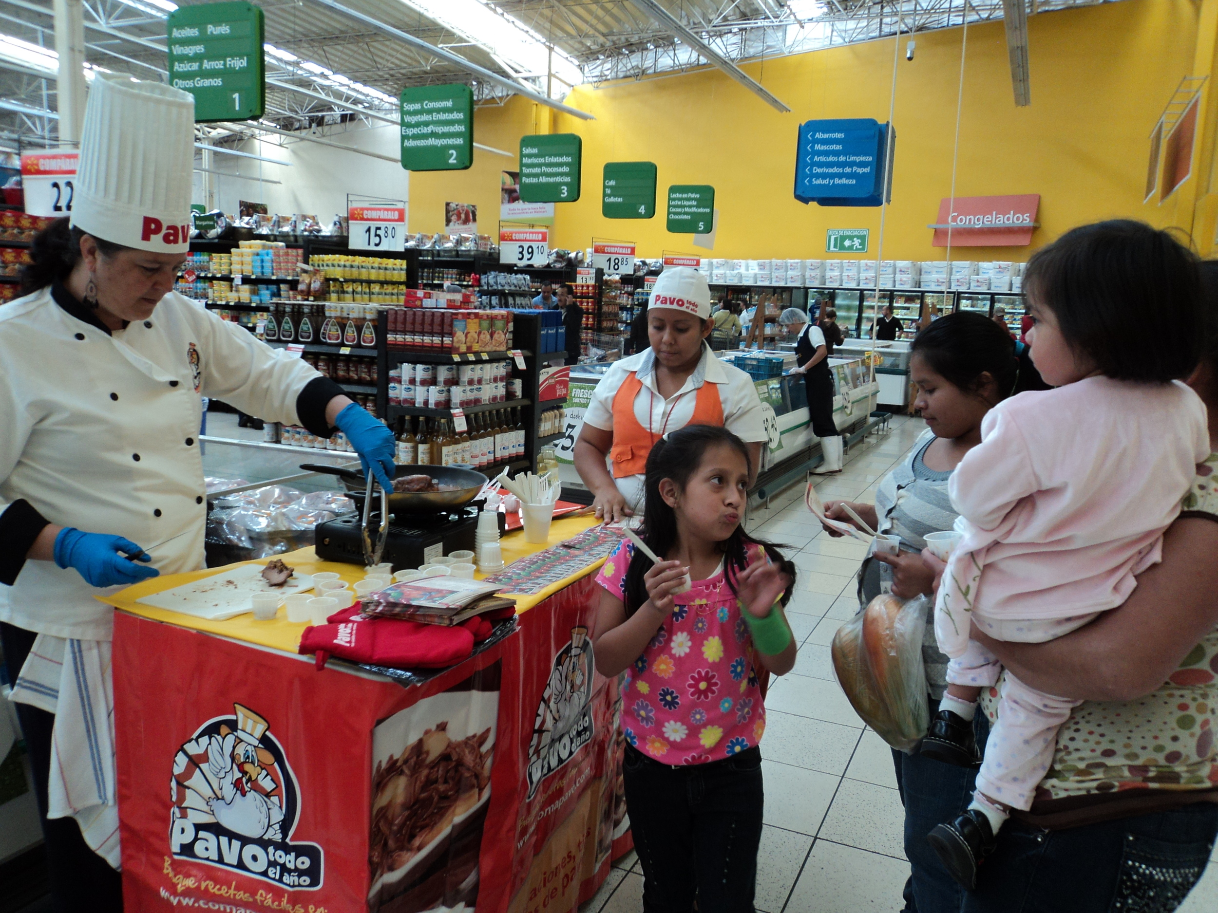 Turkey promotion with in-store sampling