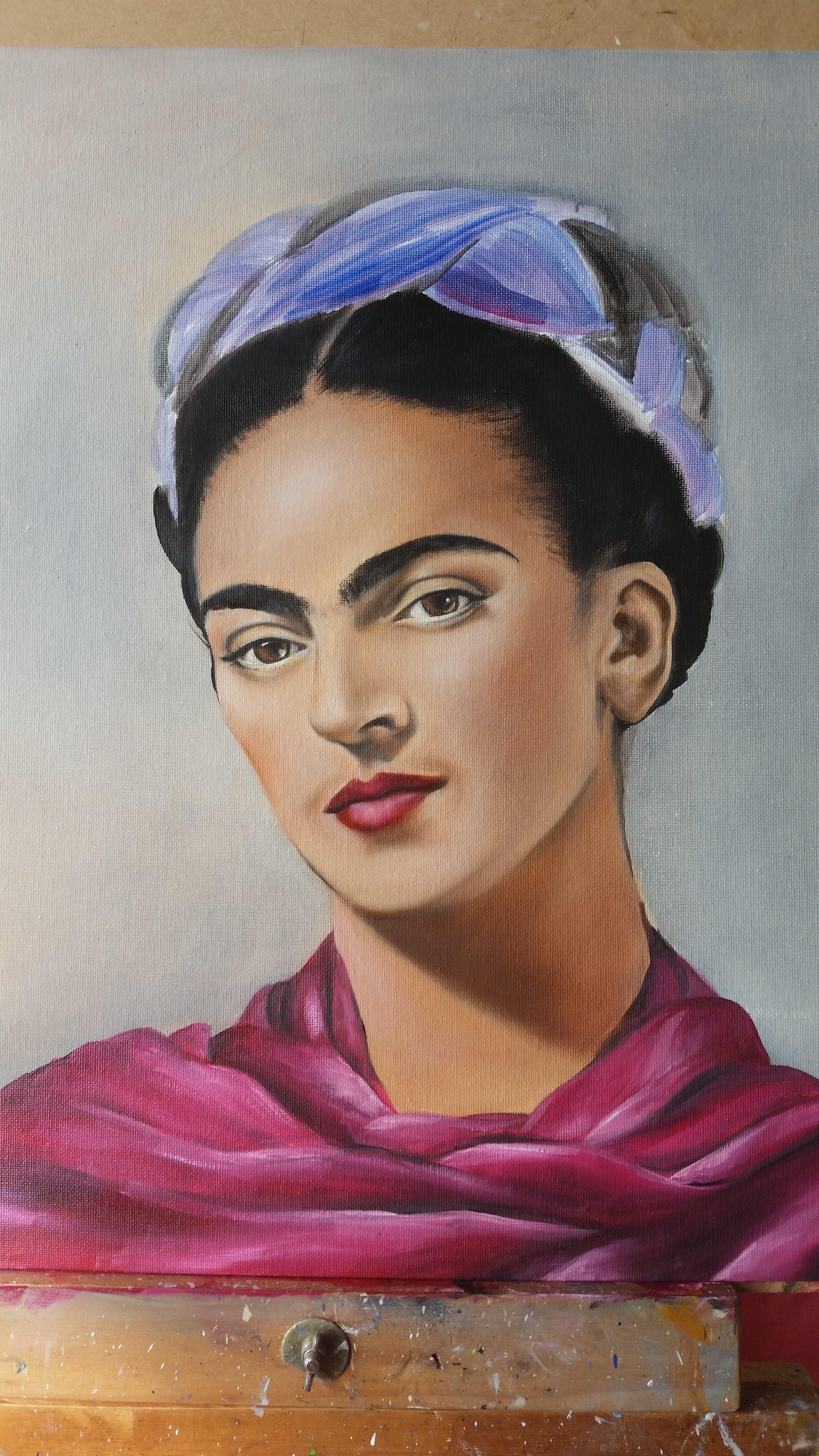 Second layers - Frida Kahlo - Zoe Wood 2017