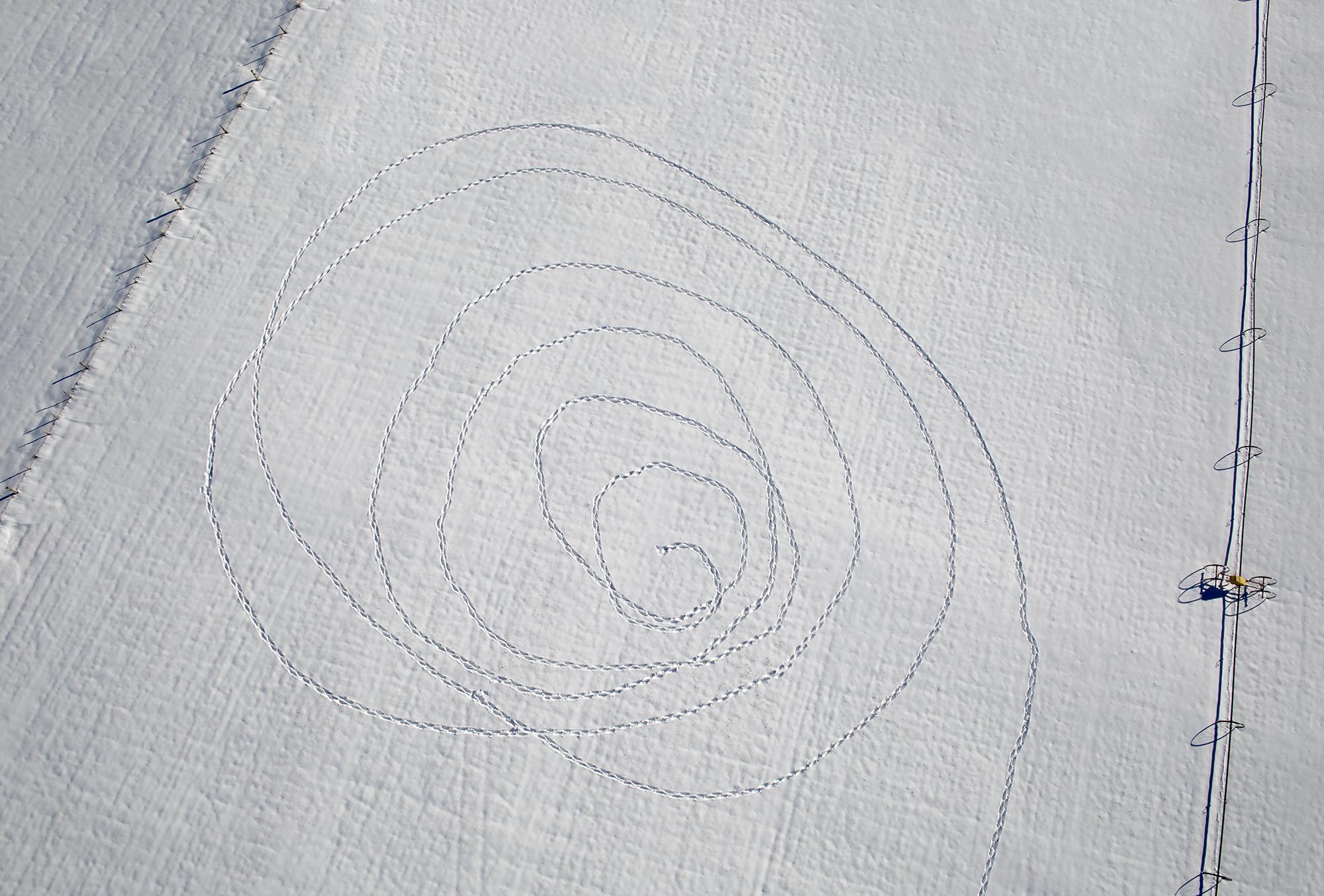 walking a spiral