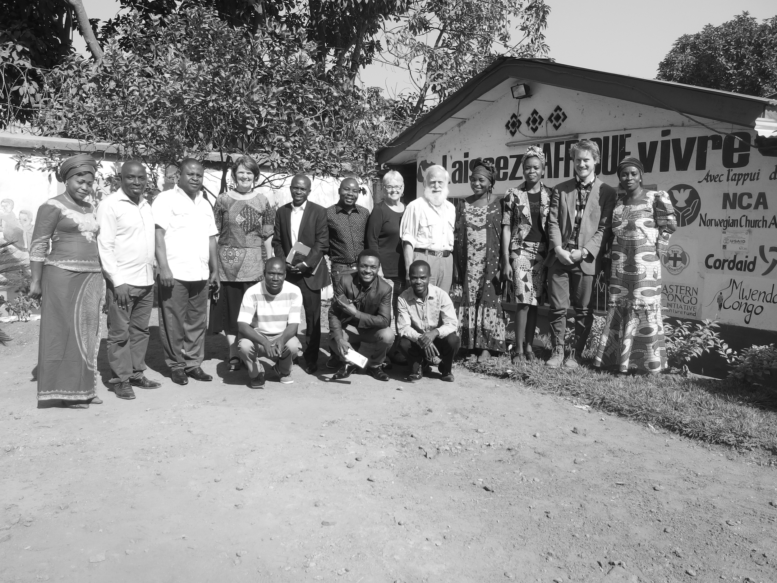 Our group with the Leaders of LAV
