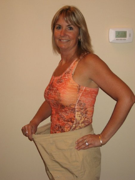 Sonja went from Size 14 to Size 2 -