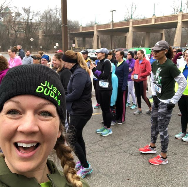 Seeing 💚 DUDAS GREEN 💚 at the The Ultimate Girls 5K - Diva Dash Edition - sponsored by Dudas Fitness! 🏃🏻♀️ Sad that we forgot to take a photo of our new doggy friend, Madison!  Always fun to hang out with our crew 💪🏻 #JustDudas #stlpersonaltrainer #stlfitlife #stltrainer #personaltrainer #dudasfitness #ultimategirls5k #ultimatedivadash #divadash #divadash5k #wwss2019 #wwss #workingwomenssurvivalshow #iamarete #areteaccelerator #aretesyndicate #arete #thisishowwedudas #fitfam #stcharles #katytrailmo #weldonsprings #running #5k #dudasgreen