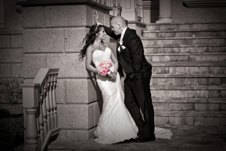 Brigalias Wedding casual conversation / Meyer Photography