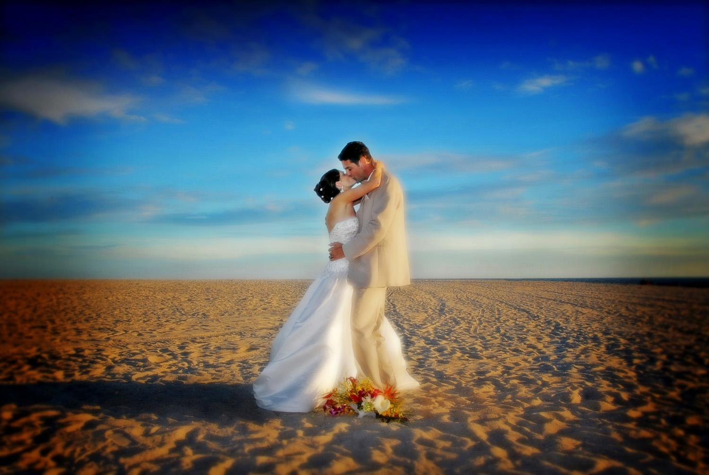 Cape May beach wedding / Meyer Photography