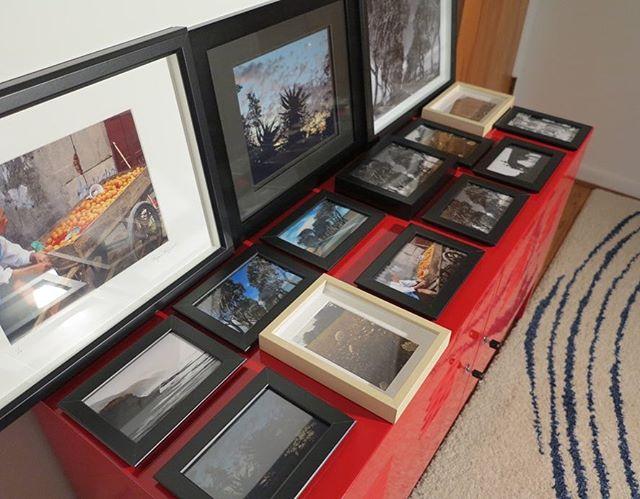 Framed photos are ready for the upcoming Westside Art Hop! Many different sizes will be available for this special neighborhood show! #travelphotography #westsidearthop