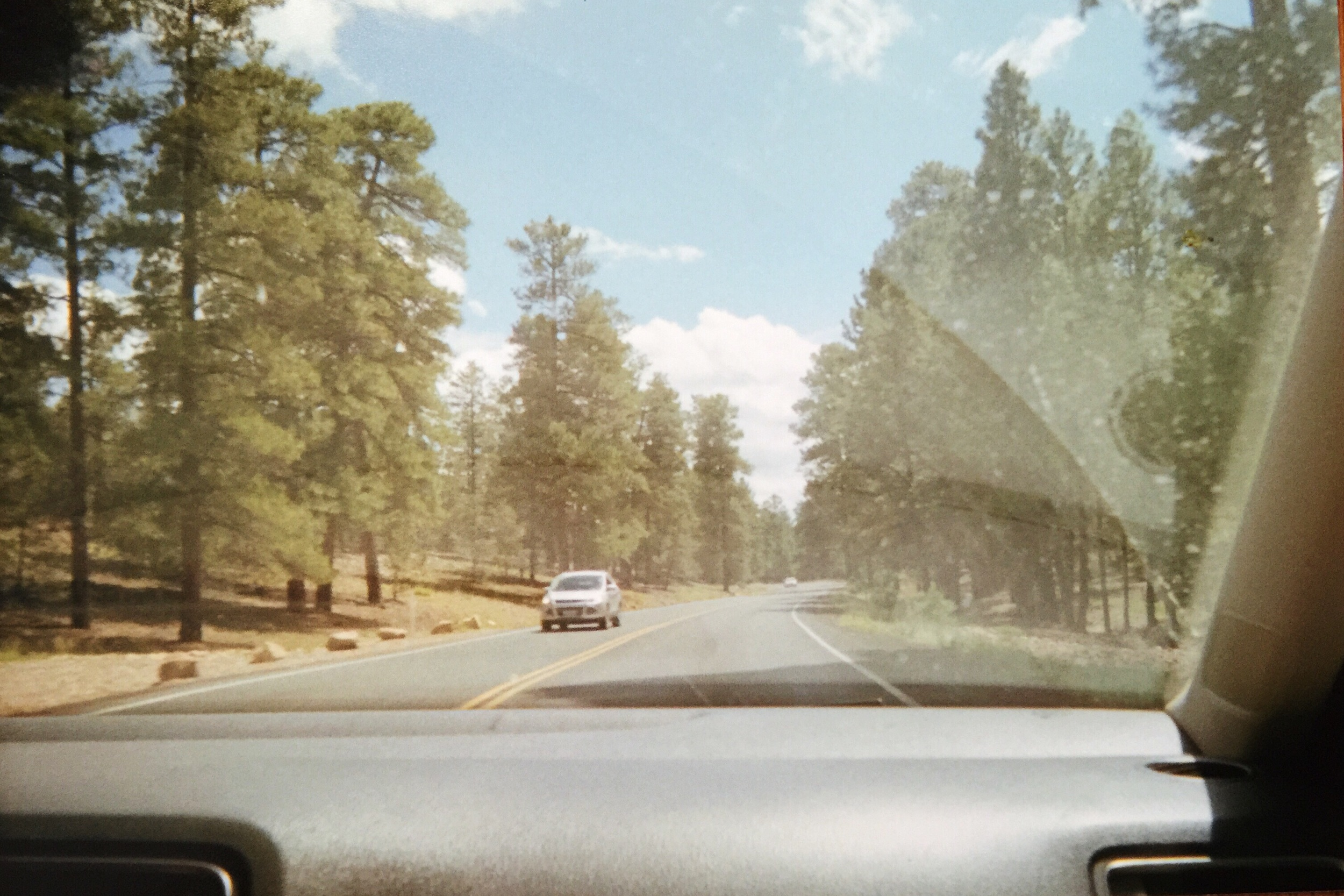 Driving through Arizona.