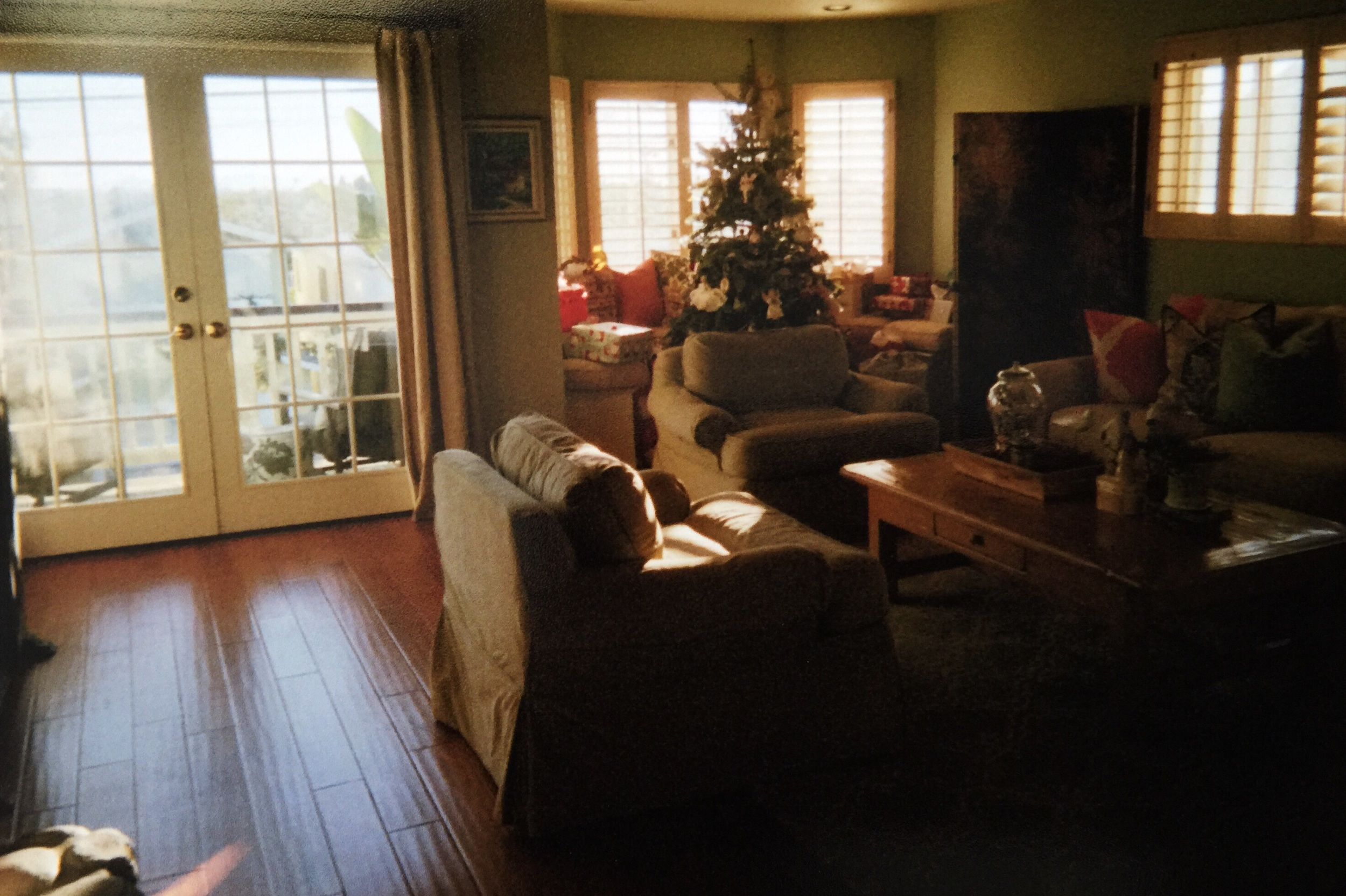 Christmas in my first home — Los Angeles