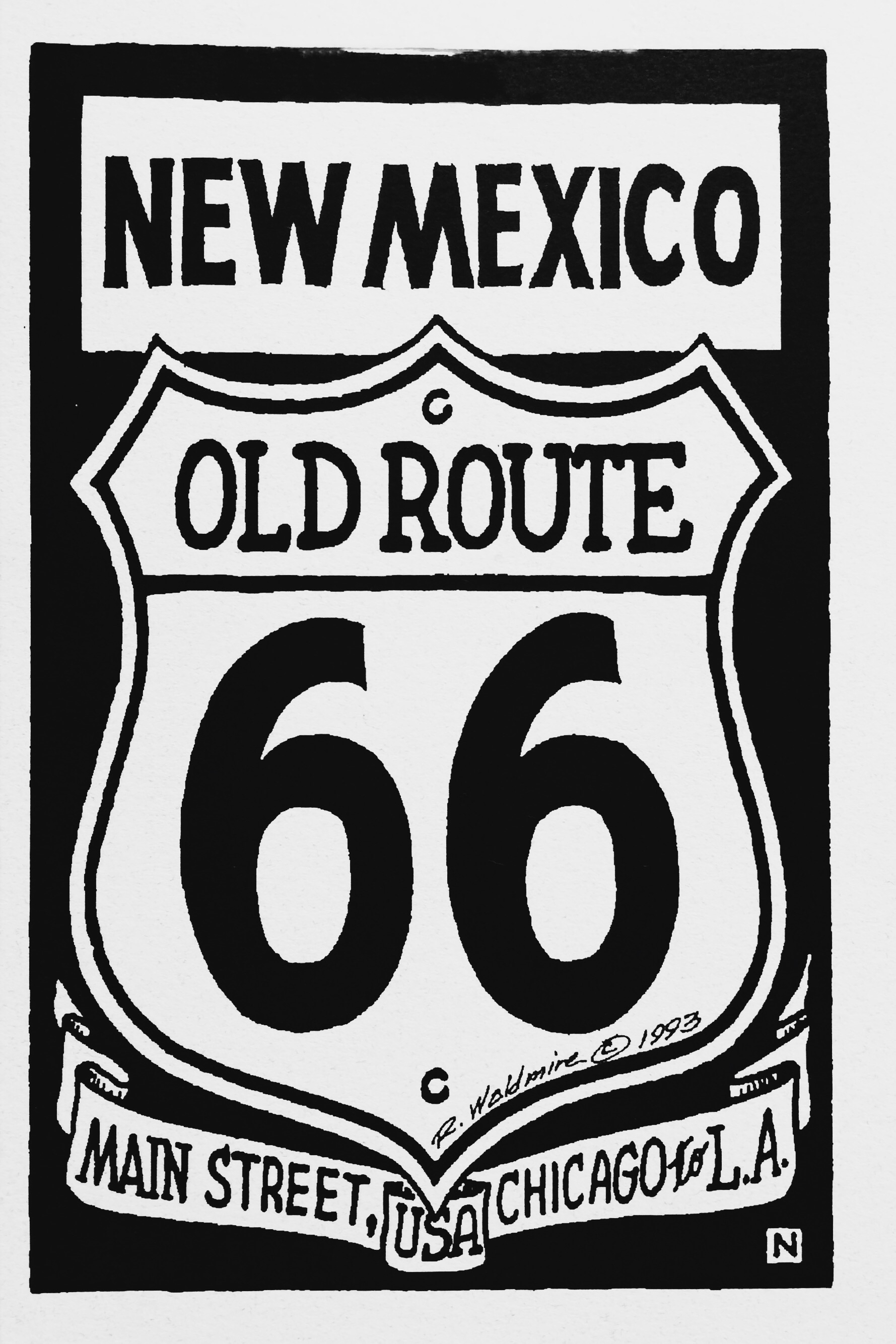 Route 66 New Mexico