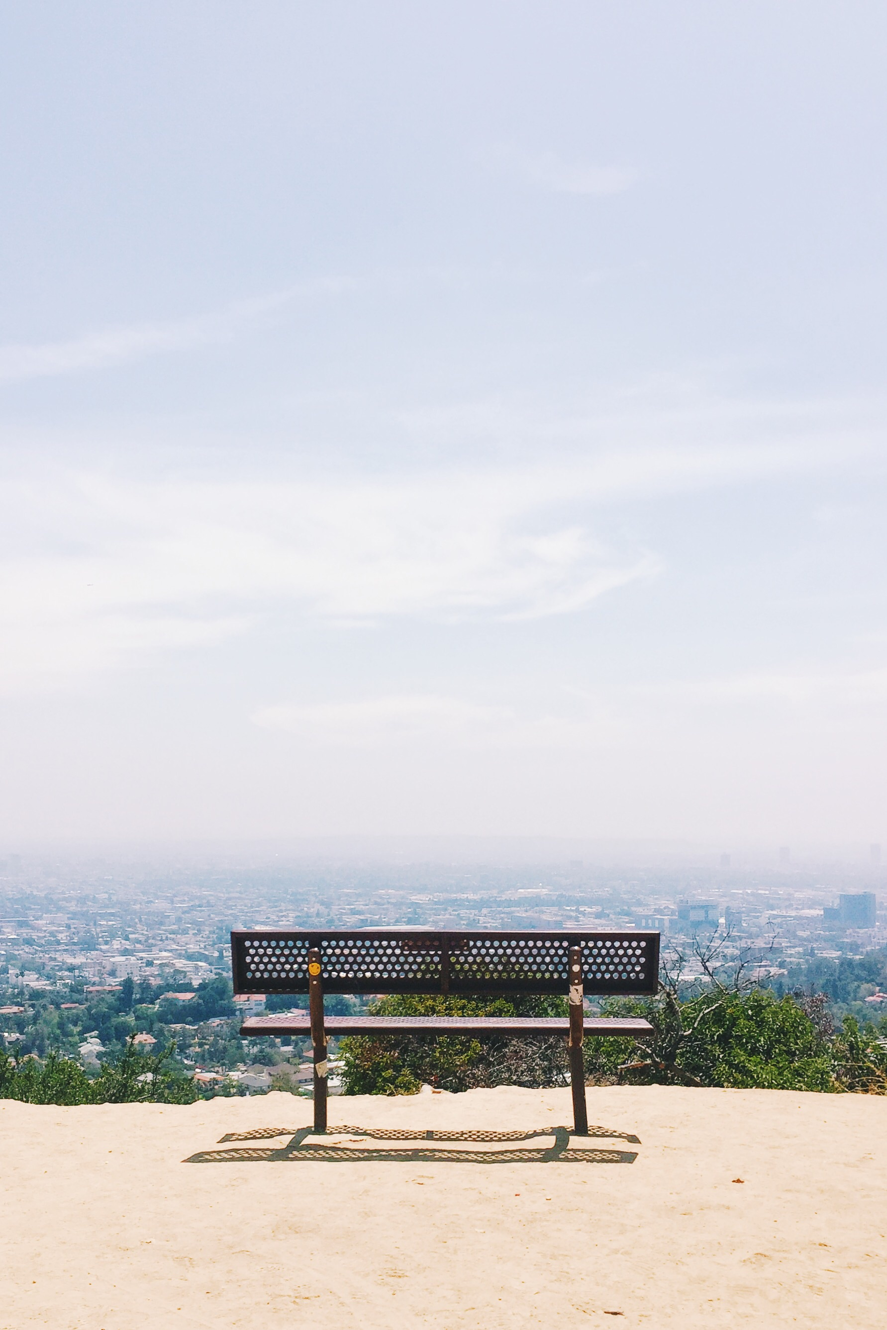 Griffith Observatory hike. Los Angeles, CA