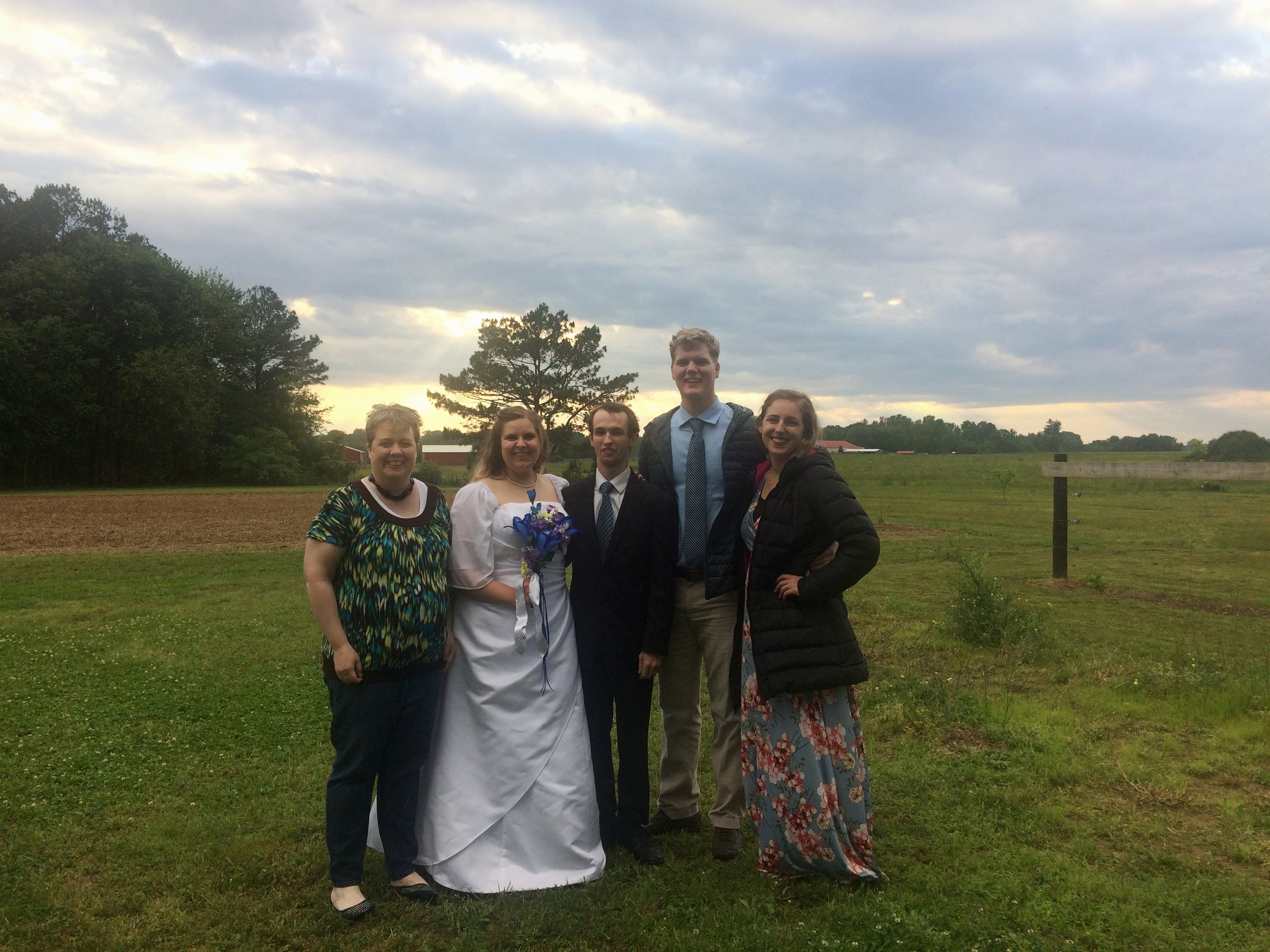 went to Alabama for a wedding...
