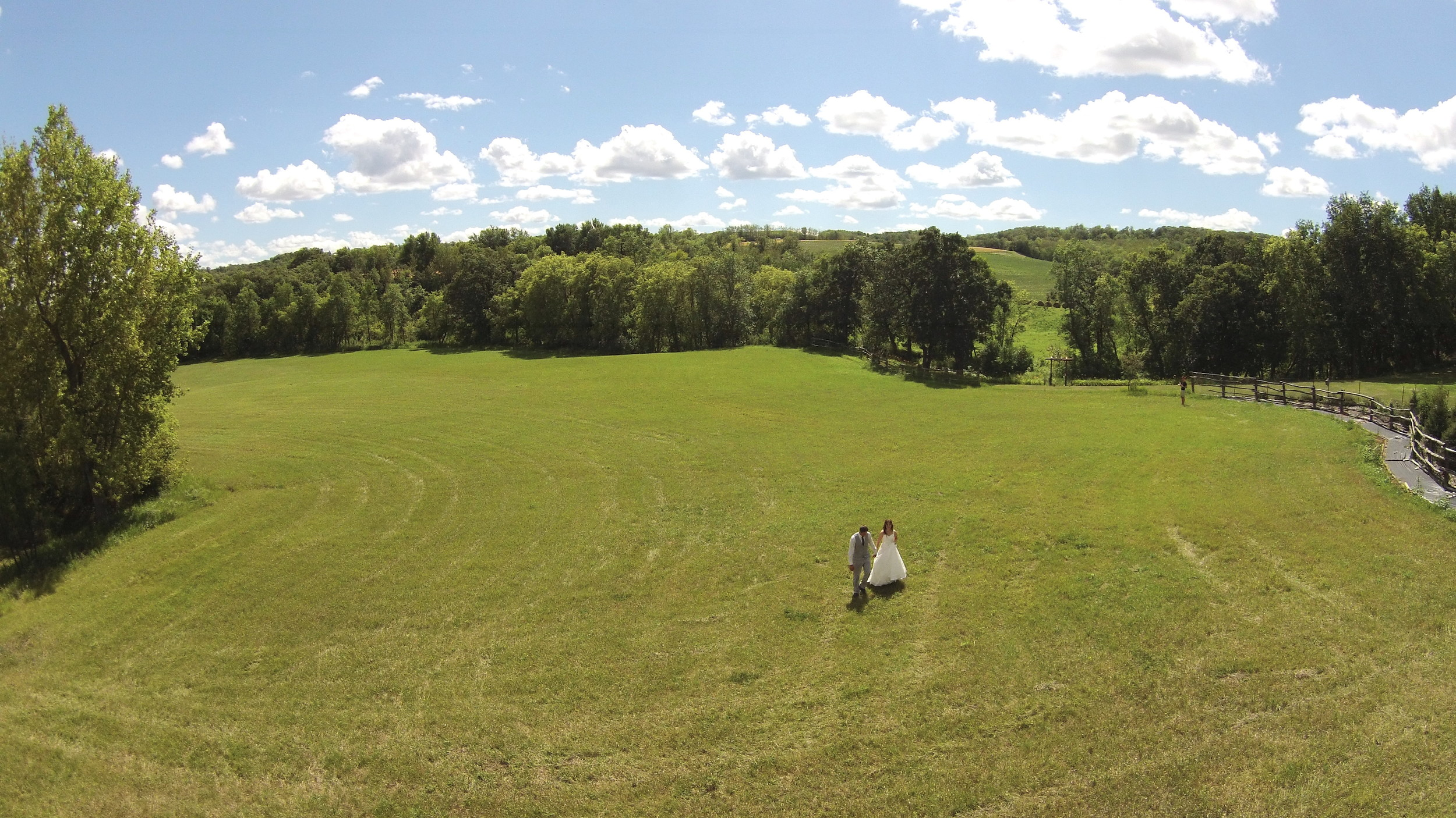 Winnipeg Wedding Videography Drone