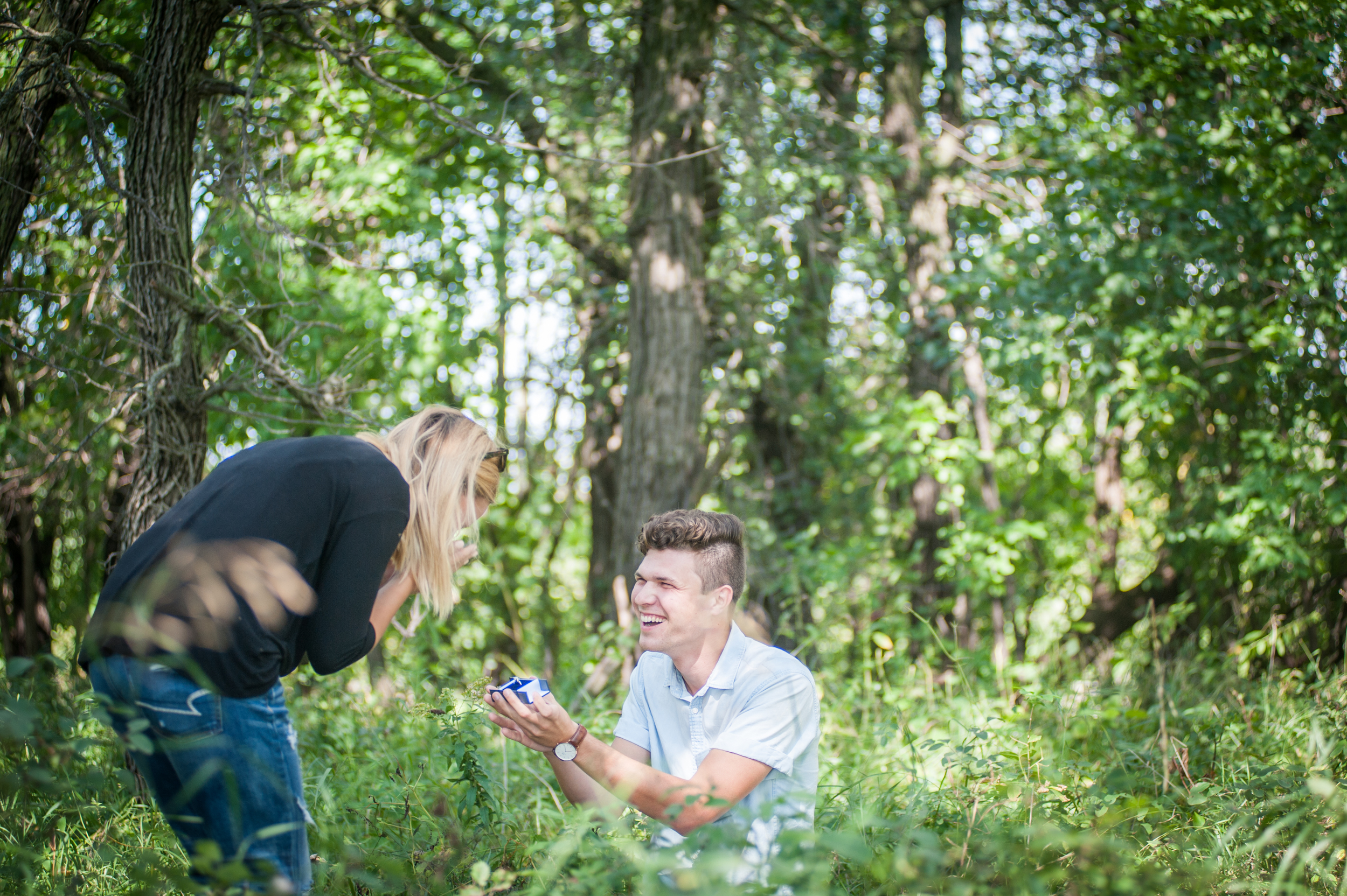 Our engagement was photographed live by our friends at WJB Photography.