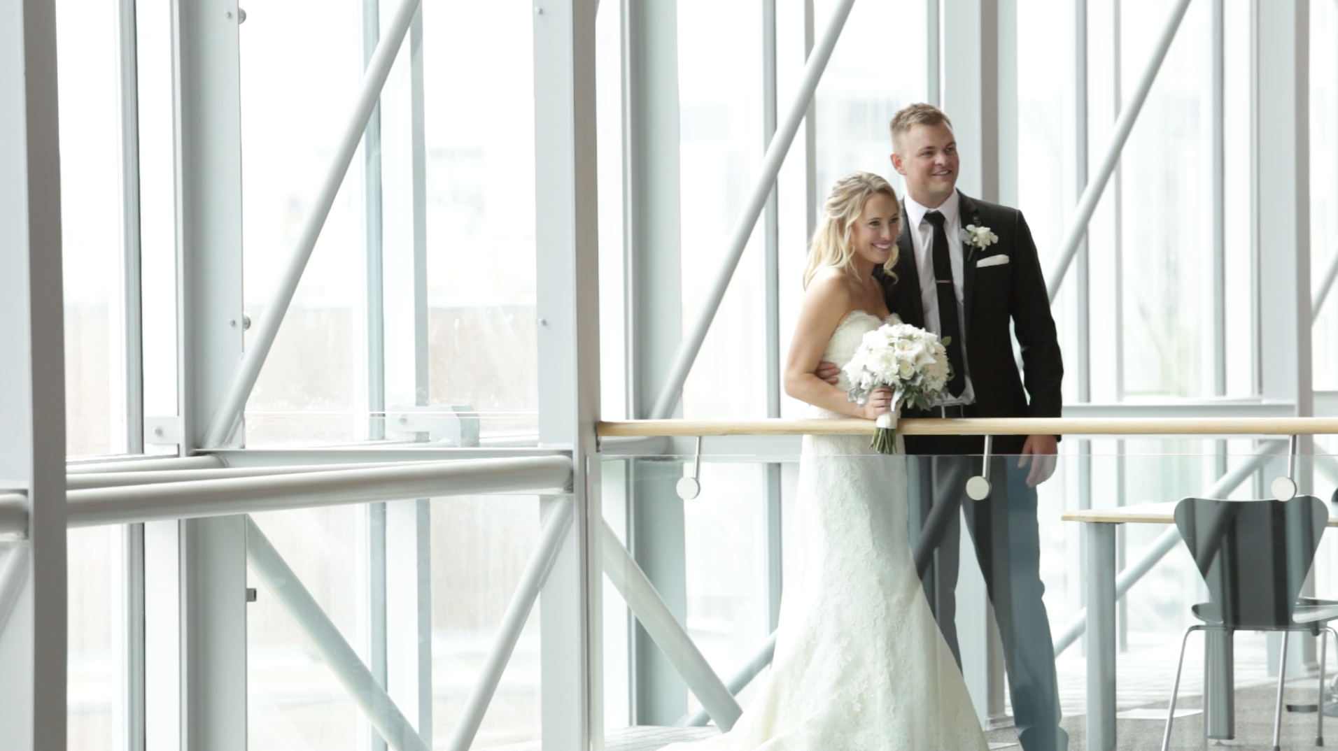 Melissa and Ian's Downtown Winnipeg wedding  (click to see their video).
