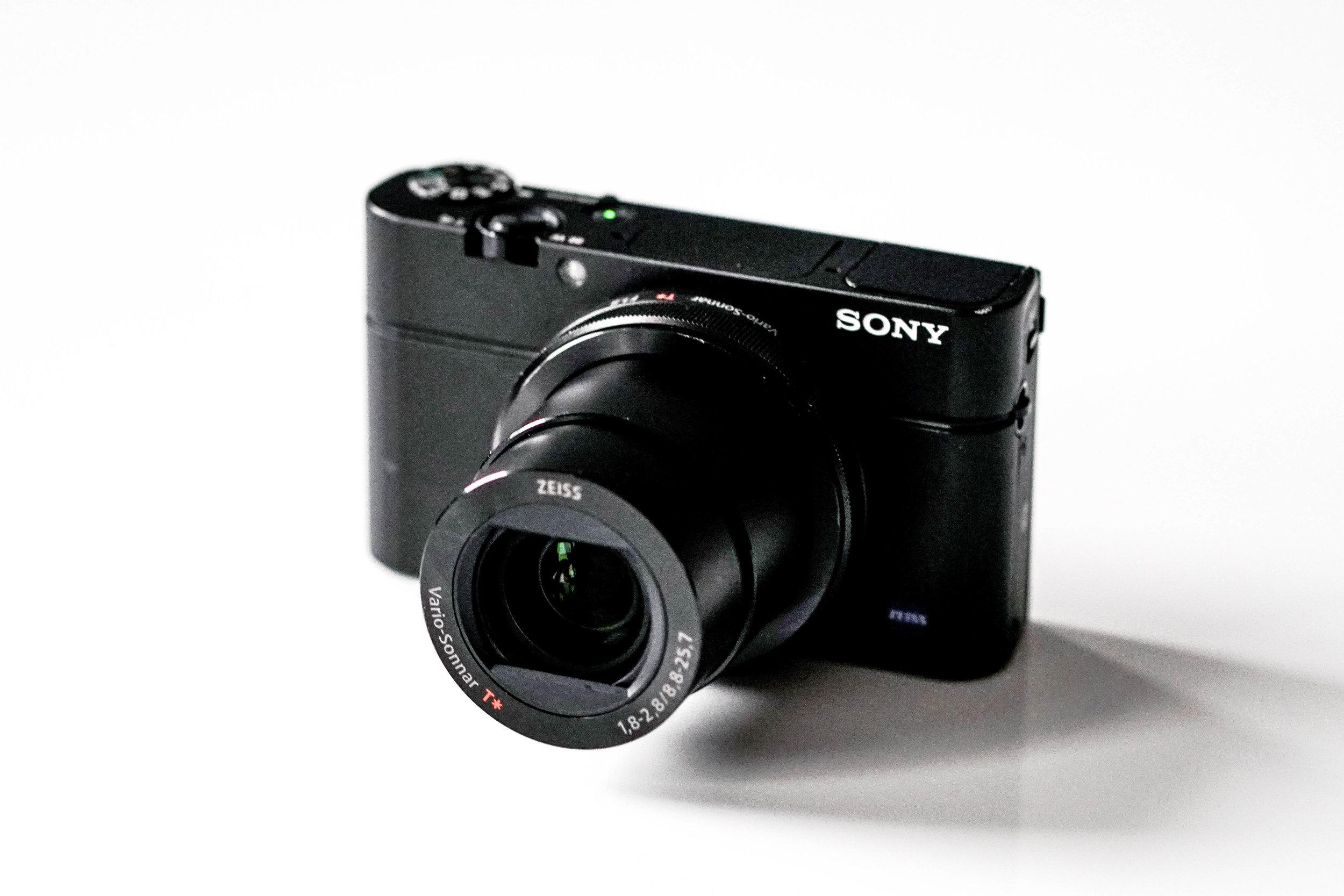 Sony RX100iii Lens