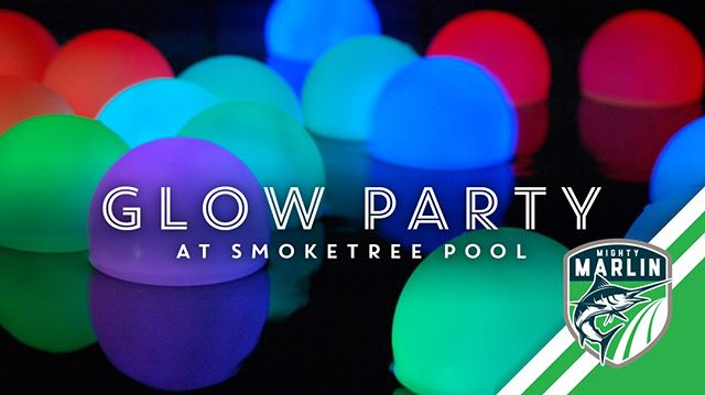 Week 10: 🌟✨ Show off your late summer glow! 🌟✨ When it gets dark, Smoketree will glow at our first Glow Party! The pool will stay open late for the glow-in-the-dark experience that all can enjoy!