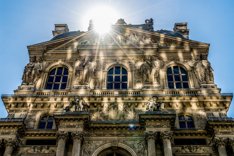 Reflections Louvre Paris, France