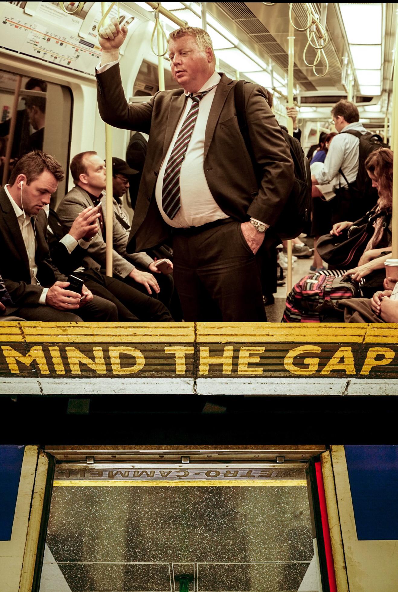 Mind the Gap, Sleppy Man London, U.K.