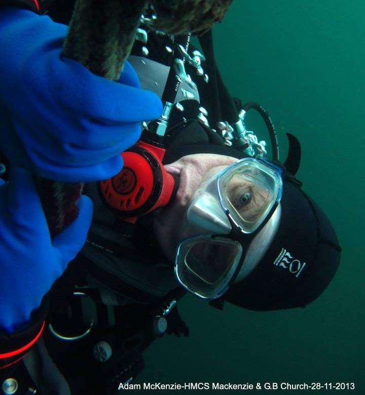 Michael Blazecka - Diving Safety Officer, Logistics & Technology Support / Officier de Sécurité de Plongée, Support Logistiques & Technologie