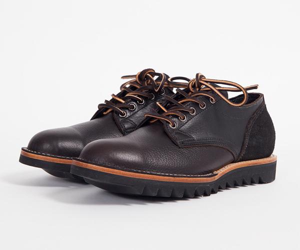 free-man :      Viberg #145 Oxford – Tumbled Leather