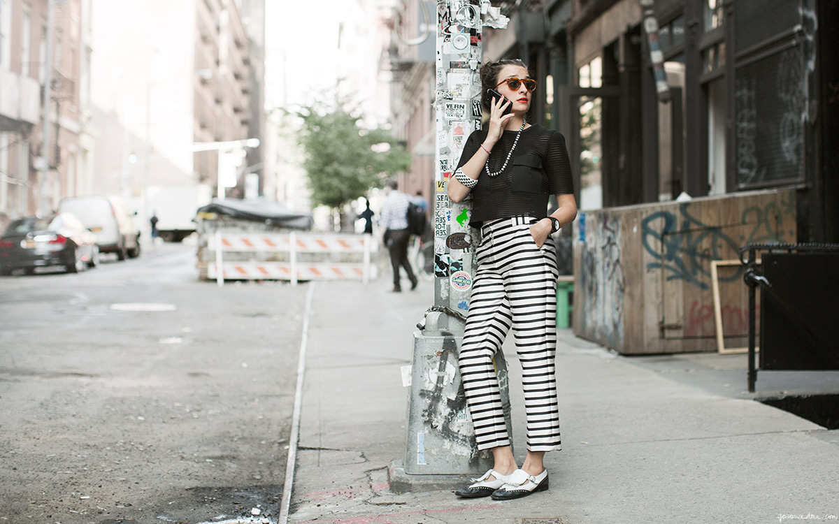 paris2london :     These pants are everything. (via  In Black & White - Garance Doré )