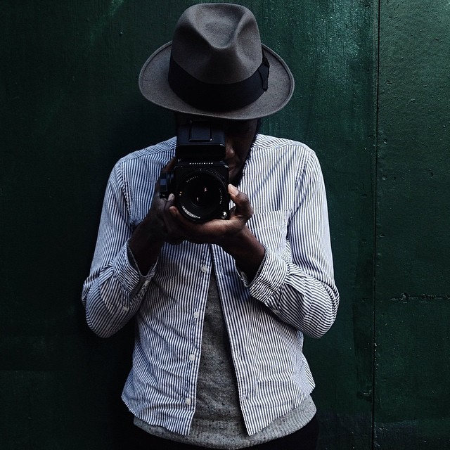 fluidecorum :     Shooter Community • Finally caught up with the bredren & compelling photographer #RogWalker; check out his work on his site  http://rogwalker.com    You gotta get an Instagram bro! Lol   #vscocam