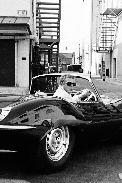 missavagardner :      Steve McQueen, photographed by Leonard McCombe, 1961.