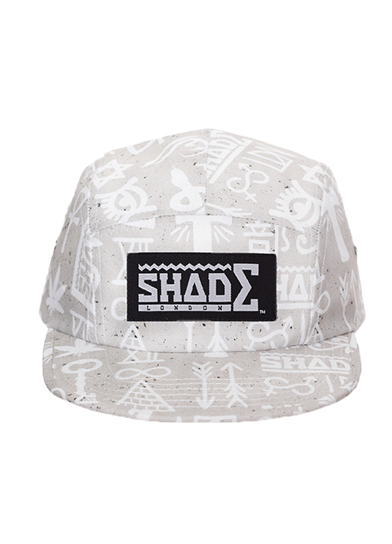 shadelondon :       New SHADEconcrete 'hieroglyphics' cap now available at shadelondon.com