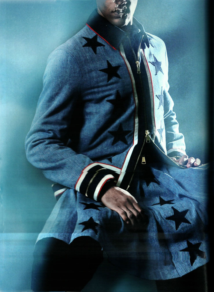zilin-lee :     OBSCURA AUTUMN ISSUE 2012    WHEN THE STARS GO BLUE: Givenchy by Riccardo Tisci    scanned by zilin-lee